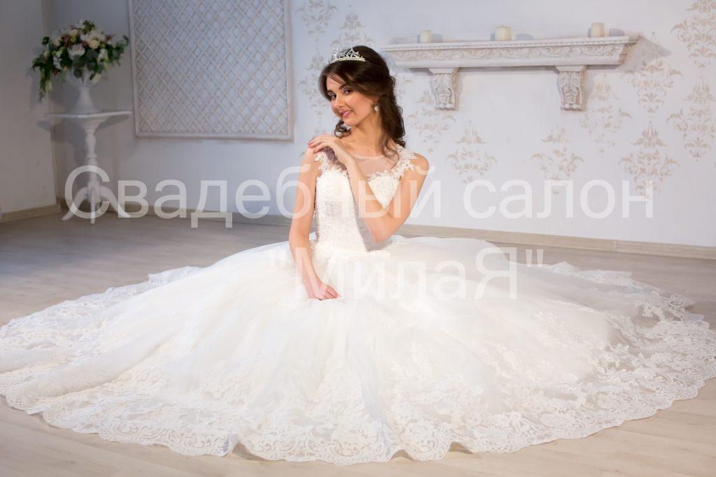 логотип компании Свадебный салон МилаЯ