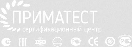 логотип компании Приматест