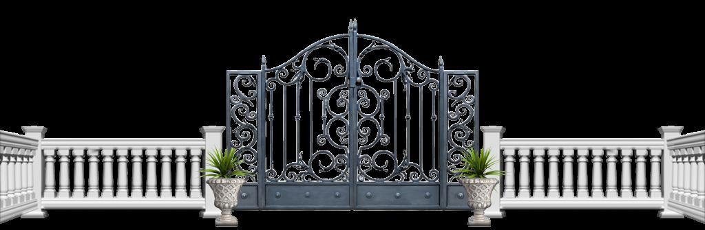 логотип компании Забор и дом