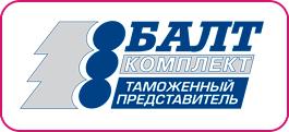 логотип компании Балткомплект