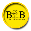логотип компании Изготовление визиток БиТуБи Дистрибьюшн