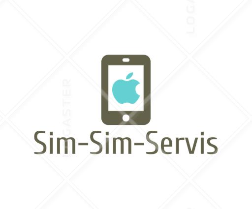 логотип компании sim sim servis