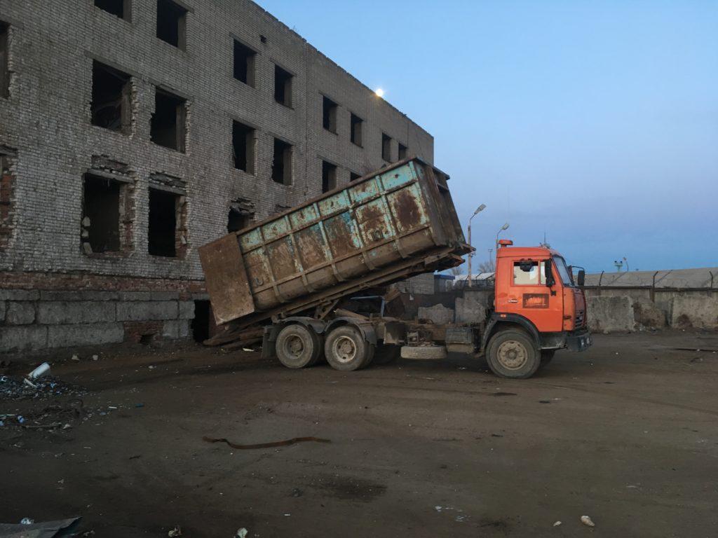 логотип компании Прием металлолома в Спб, демонтаж, вывоз.
