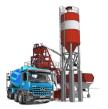 логотип компании Конкрит Экспресс, бетонный завод
