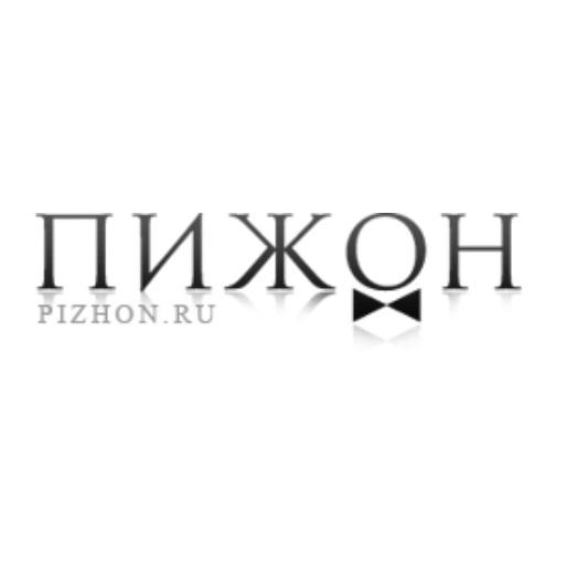 логотип компании Магазин одежды и аксессуаров Пижон
