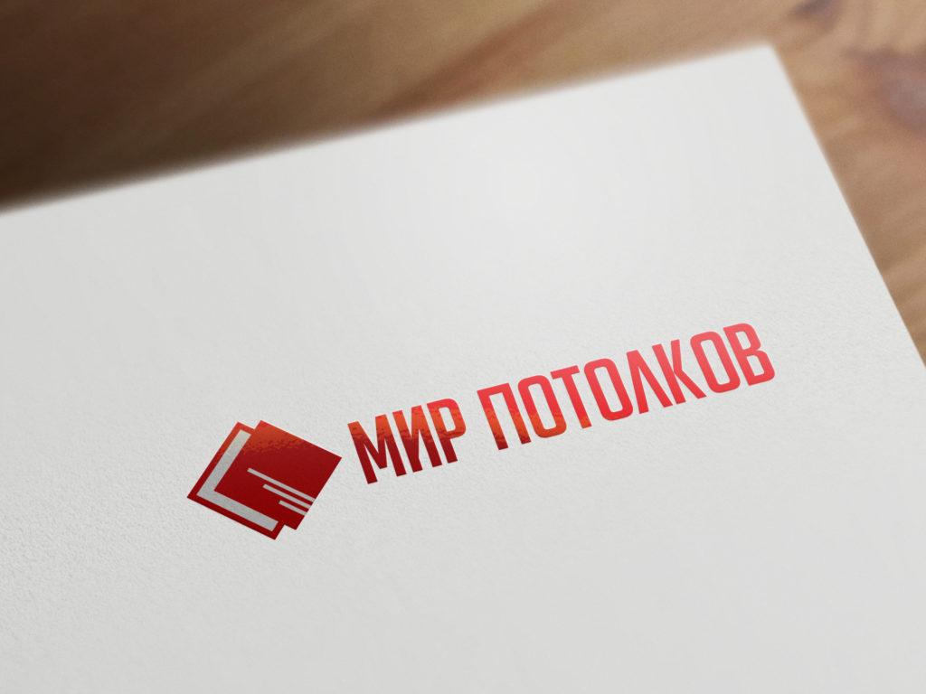 логотип компании Мир натяжных потолков