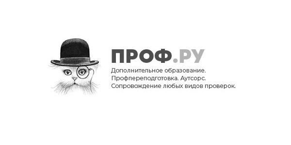 логотип компании ПРОФ.РУ
