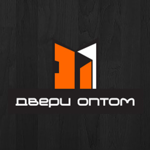 логотип компании «Двери Оптом» — продажа межкомнатных и входных дверей