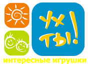 """логотип компании Интернет-магазин игрушек """"Ух ты!"""""""