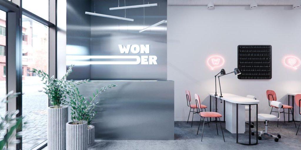 логотип компании WONDER nail studio