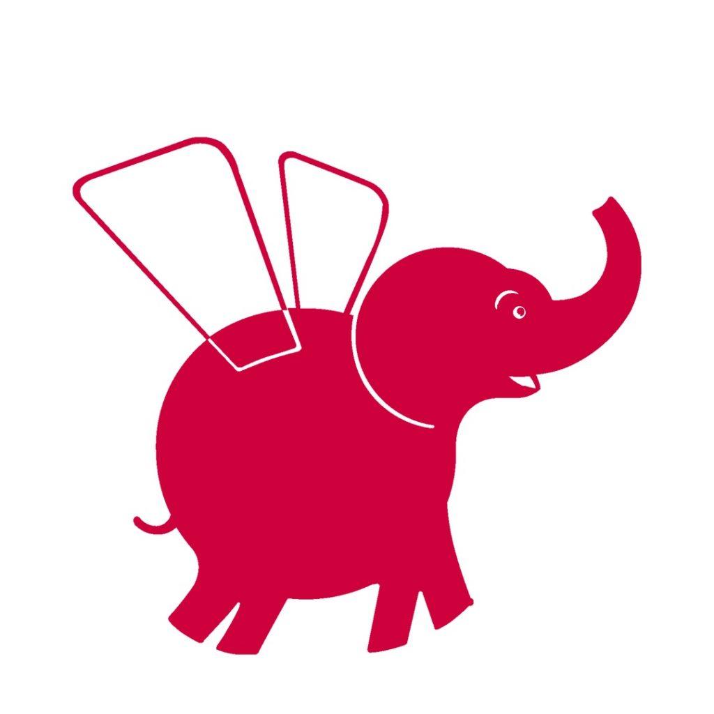 логотип компании Красный слон